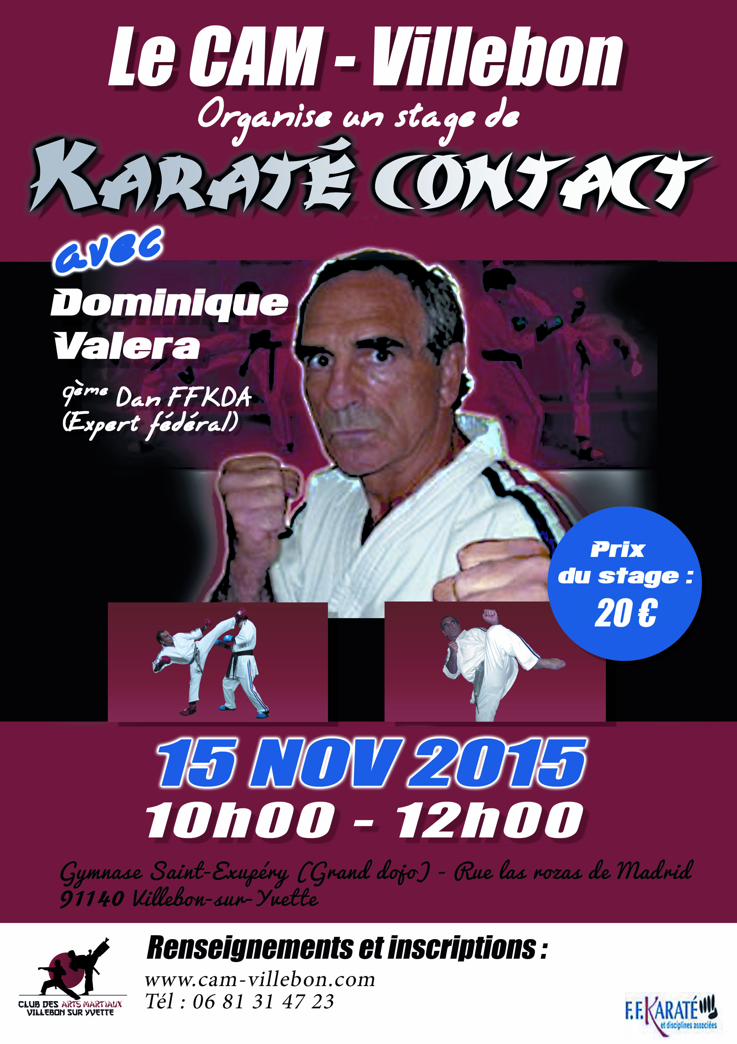 STAGE KARATE CONTACT